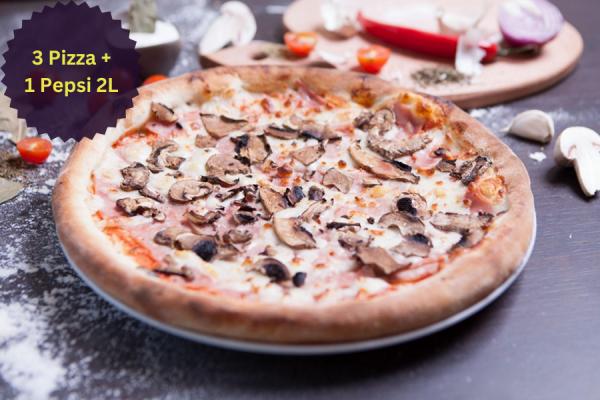 Pizza Prosciuto Kids
